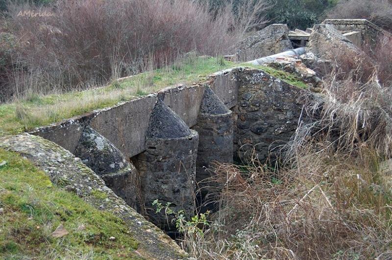canal de la presa arroyo de los Álamos